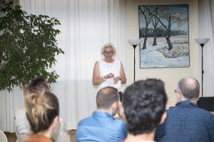 Begrüßung zum UrbanLab durch Prof. Pahl-Weber